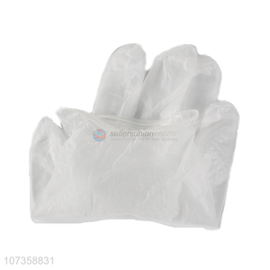 Wholesale transparent disposable examination pvc gloves protective gloves
