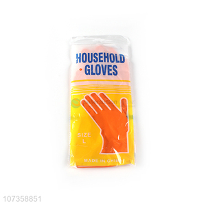 Good quality kitchen rubber gloves household gloves cleaning gloves
