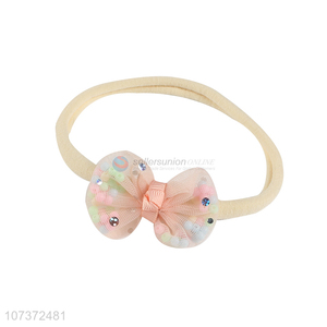 Fashion Hair Accessories Net Yarn Bowknot Headband