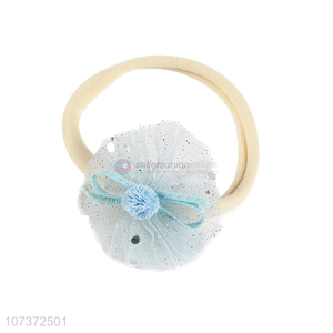 Best Sale Net Yarn Flower Headband Fashion Hair Band