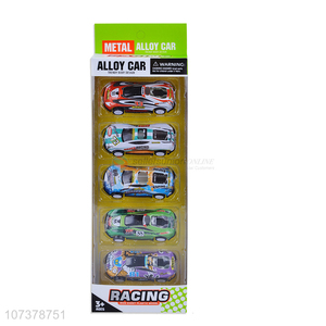 Unique Design Pull Back Car Alloy Racing Model Car Toy