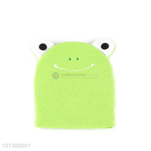 Cartoon Frog Design Bath Scrubber Shower Gloves