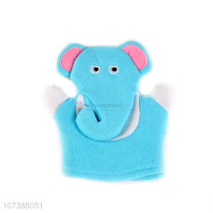 Cartoon Elephant Shape Bath Exfoliating Scrubber Glove