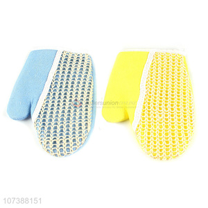 Hot Selling Bath Scrub Gloves Fashion Shower Gloves