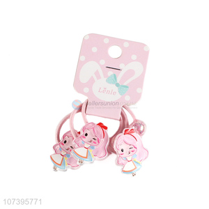 Low price cartoon girl hair band hair ring hair circle for children