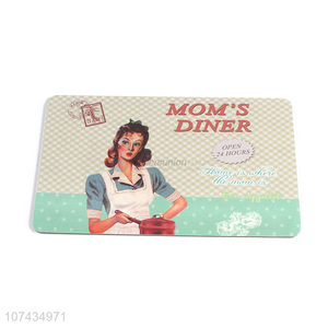 Fashion Printing Rectangle Table Mat Cup Mat