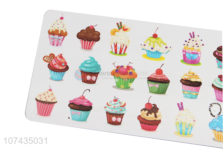 Wholesale Cake Pattern Rectangle Cup Placemat