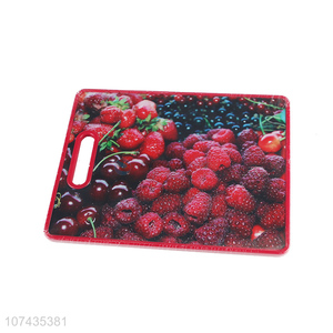 Delicate Design Fruit Pattern Rectangle Cutting Board