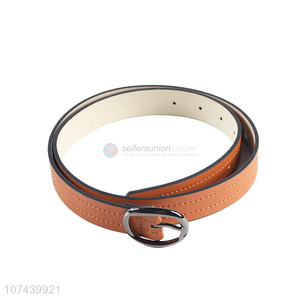 Factory price fashion accessories women pu leather belt