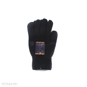 Hot Sale Winter Warm Knitted Gloves Outdoor Gloves