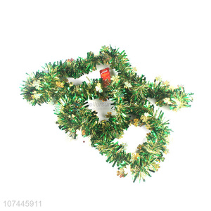 Popular Christmas Decoration Plastic Tinsel Garland