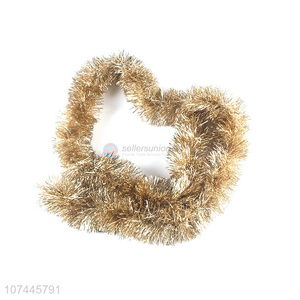 Best Sale Plastic Tinsel Garland For Christmas Decoration