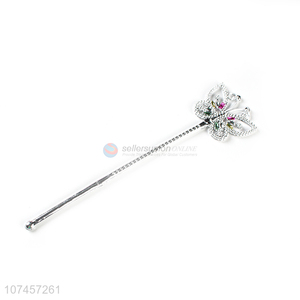 New Selling Promotion Plastic Butterfly Fairy Wand Magic Stick