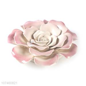 Hot Selling Elegant Ceramic Flowers Fashion Crafts Ornaments