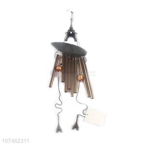 Most popular indoor balcony decoration iron tower wind chimes handicrafts