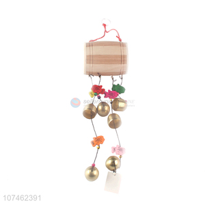 Best selling garden decoration wooden drum wind chimes birthday gifts