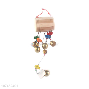 New arrival outdoor ornaments wooden drum wind chimes wooden crafts