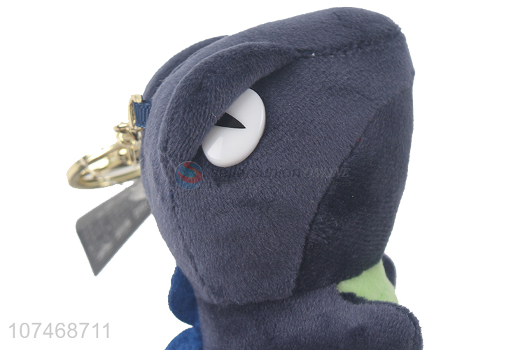 Top products plush dinosaur key chain women hangbag ornament