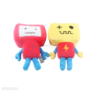 New Design Colorful Cartoon Robot Stuffed Doll Plush Toy