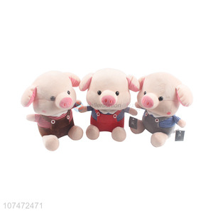 Good Price Cartoon Pig Stuffed Doll Popular Plush Toy