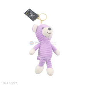 Hot Selling Colorful Cartoon Plush Doll Key Chain Pendant