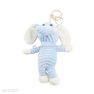New Style Colorful Cartoon Elephant Key Chain Fashion Doll Pendant
