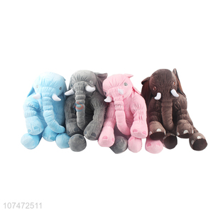 Hot Selling Colorful Elephant Stuffed Toy Cartoon Plush Toy