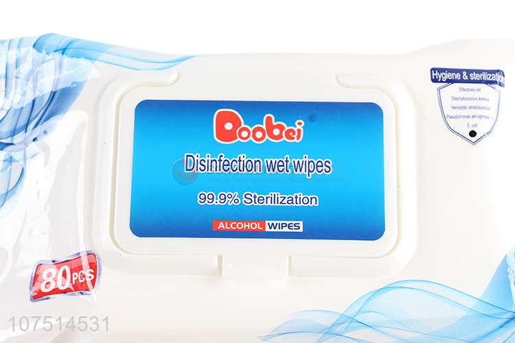Hot Sale Personal Protective Disinfection Wipes Alcohol Wipes