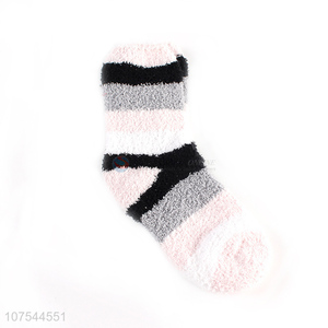 Factory Price Winter Warm Thick Comfortable Half Fleece Socks