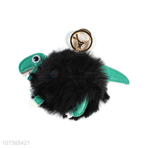 Most popular cute dinosaur key chains plush key chain animal bag pendants
