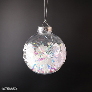 Wholesale Christmas Hanging Ornaments Fashion Christmas Balls