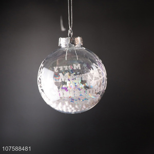 Best Price Christmas Decoration Hanging Christmas Ball