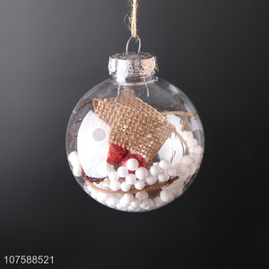 Latest Christmas Decoration Ornaments Fashion Christmas Ball