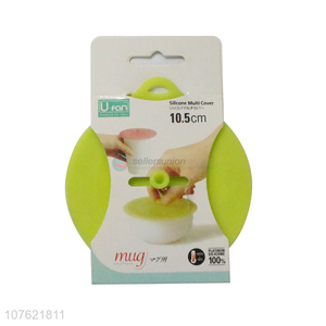 Wholesale custom reusable fresh fruit food storage covers wraps seal stretch lids can lid silicone cover
