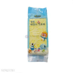 New design cute comfortable with top quality bath sponge for kids
