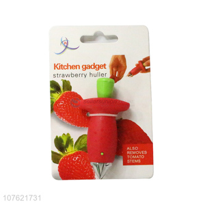 High quality wholesale price kitchen accessories fruit tool strawberry leaf stem remover strawberry huller