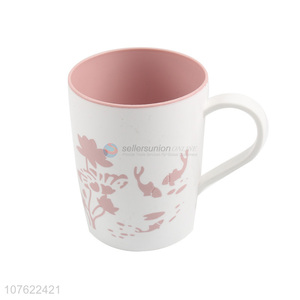 Most popular bathroom tooth mug plastic tooth cup water cup