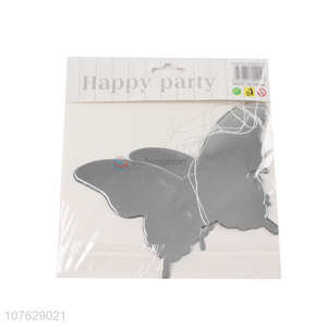 Fashion Butterfly Shape String Garland Banner For Party Decoration