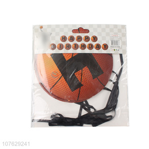 BEST Selling Basketball Shape Hanging Banner Party Decoration
