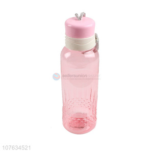 Low price fashion plastic water bottle drinking bottle for girls