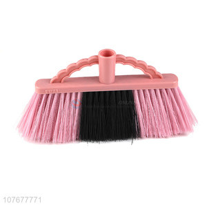 Custom Colorful Plastic Broom Head Household Cleaning Broom