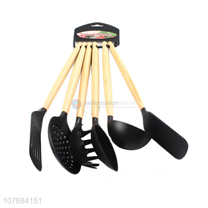 Hot Sale Leaky Spatula Slotted Spoon 6 Piece Cooking Tool Set