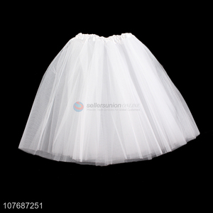 Factory price women gauzy skirt ballet gauzy dress