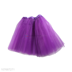 Top seller fluffy women pettiskirt girls gauzy skirt