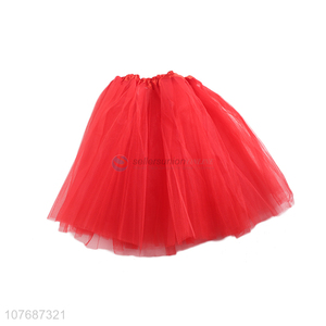 Competitive price ladies tutu skirt fluffy dance skirt