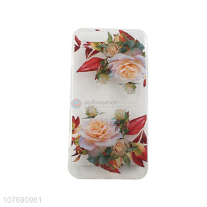 Wholesale Flower Pattern TPU Phone Cases Cheap Mobile Phone Cover
