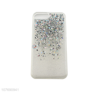 Cool Design Transparent Glitter Phone Cases Mobile Phone Covers