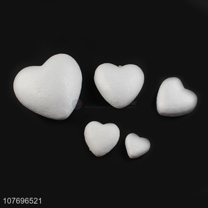 High quality party decoration foam solid peach heart model