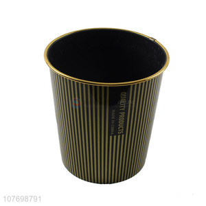 Top Quality Office Plastic Garbage Can Cheap Kitchen Bin