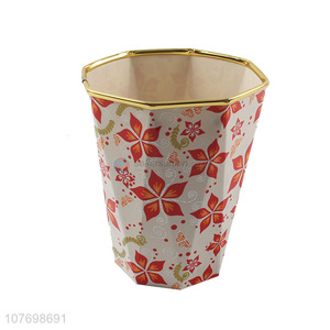 Delicate Design Plastic Storage Bucket Fashion Kitchen Bin
